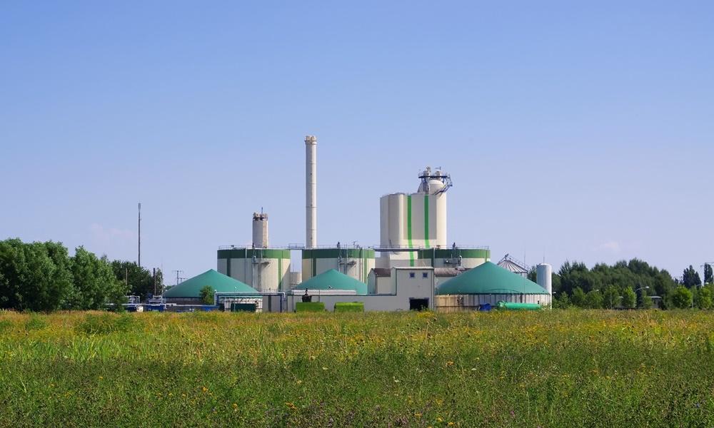 22096530 - biogas plant